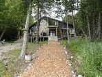 Beautiful 5 Bedroom 3 bath log home on Lake Huron