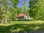 Private Setting Leipers Fork on 6 acres Sleeps 10