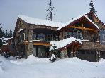 Luxury private home on Whitefish Mountain ski run