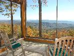 Table Rock Cabin with 50 mile Blue Ridge Views!!!