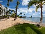Luxury, Oceanfront 2 Bedroom Condo on Kahala Beach