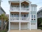 3 bedroom 2 1/2 bath just steps from the beach!