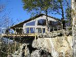 Beaver Lakefront Cabin - Upscale, Secluded Luxury