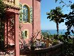 in Menton on the French Riviera - Villa Mediterranee