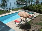 Million Dollar Waterview 4 bed Pool Home  ICW Dock