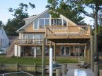 New Low Memorial Day Rates!!! Peaceful 3BR House on Oyster Creek w/ Amazing Views of the Chesapeake Bay