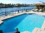 5 STAR LUXURY 4BR WATERFRONT HTD POOL HOME! BEACH!