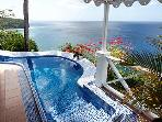 The Caribbean Blue Suite - perfect horizon views