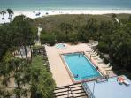 2BR2BA Gulf View SiestaKey Beach HDTV PVR FreeWiFi