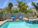 Beautiful Desert Oasis, Saltwater Pool, 3BR, Views