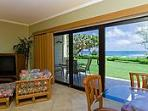 Kaha Lani #124 - Ocean Front Condominium