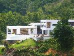 Elegant hillside refuge on DR's loveliest beach