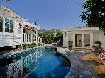 Designer W. Hollywood bungalow, pool, guest house