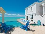 Villa Roi Soleil,Beachfront,Panoramic Ocean Views!