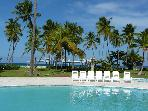 Playa Turquesa, beachfront, ocean view apt. 2/2.