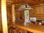 3 bedroom artisan's cabin in Blue Ridge mountains