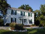 Historic Civil War 5 Bedroom Home Near VIR Raceway