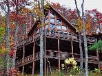 Spectacular Views! 3 BR Luxury Cabin-Aska Adv Area