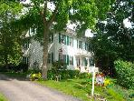 3 Bedroom B&B - quiet street along Kennebec River.