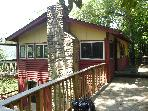 1 bedroom mountain cabin east of Asheville, NC