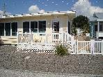 3 bedroom, 2 bath house just steps to the beach