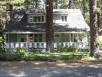 Large Lake Tahoe Home Near Lake and Ski Resorts