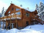 Beautiful Log Home - Half an hour to Breckenridge