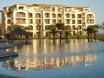 Ground Floor Beachfront Luxury Condo. Golf Resort.
