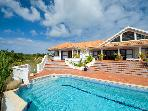 Frangi Pani at Terres Basses, Saint Maarten - Gated Community, Pool, Tropical Gardens