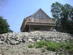 Beautiful Log Home With All Amenities In Maine