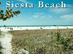 Siesta Key Village Apt. Sleeps 4-1 Block to Beach