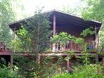 Blue Ridge Parkway Cabin with Hottub Elev 3800'