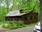 Stony Point Retreat (Log Cabin in an Oak Forest)