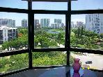 Luxury apt in heart of Aventura canal &amp; golf views