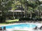 Oceanview 2 bedroom 3 bath Hilton Head Beach Villa