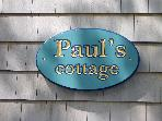 Paul's cottage in Tenants Harbor, Maine