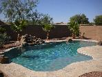 3 bedrooms 2.5bath spacious 2 story w/heated pool