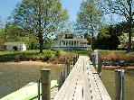 Outstanding vacation property  Pool, poolhouse, dock, games--all you need!
