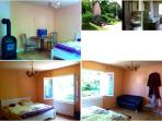 4 bed room apartment with bath, kitchen & internet