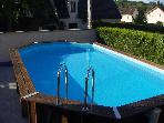 4 bedroom house Nr Disneyland Paris - Outdoor pool