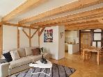 Old Town Square 2-level loft