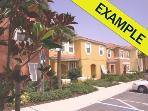 2BT 2BT~ Town Homes In Orlando: 2 Bedroom BEST VALUE Townhome Rentals