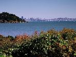 Tiburon - Private Gardens, Views of San Francisco