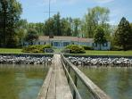 Rare to find waterfront vacation home within the town limits of St. Michaels
