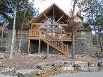 Spacious 4 bedroom, 4 bath lodge at StoneBridge Resort