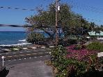 Holualoa Bay Villas ~ Great complex across from the Ocean with  lots of Tide Pools ,   Pool, Sauna, Hot tub, Tennis , Clubhouse