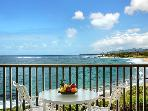 Oceanfront Condo Overlooking Wailua Bay
