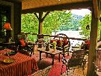 Luxury Lakefront Cabin - Fox Hollow Cottage