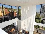 West Hollywood 2 Bedroom Penthouse with Pool and Incredible Views (4211)