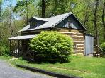 Authentic Civil War Cabin in Blue Ridge Mountains